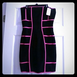 Asos brand tube top dress